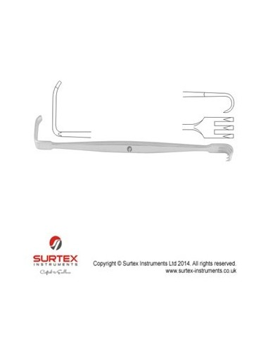 "SENN - MILLER RETRACTOR SHARP 16CM 6 1/4"" BLADE SI"