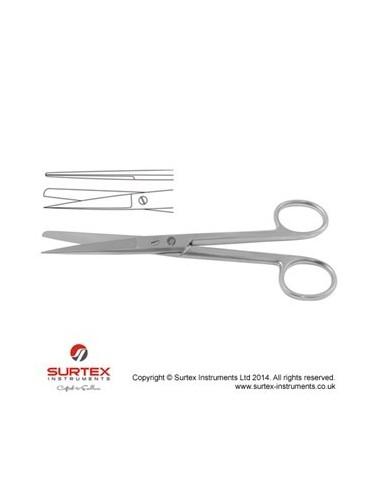 """TIJERAS CIRUGIA CURVA SHARP/ BLUNT 14.5 cm  5 3/4"""""""