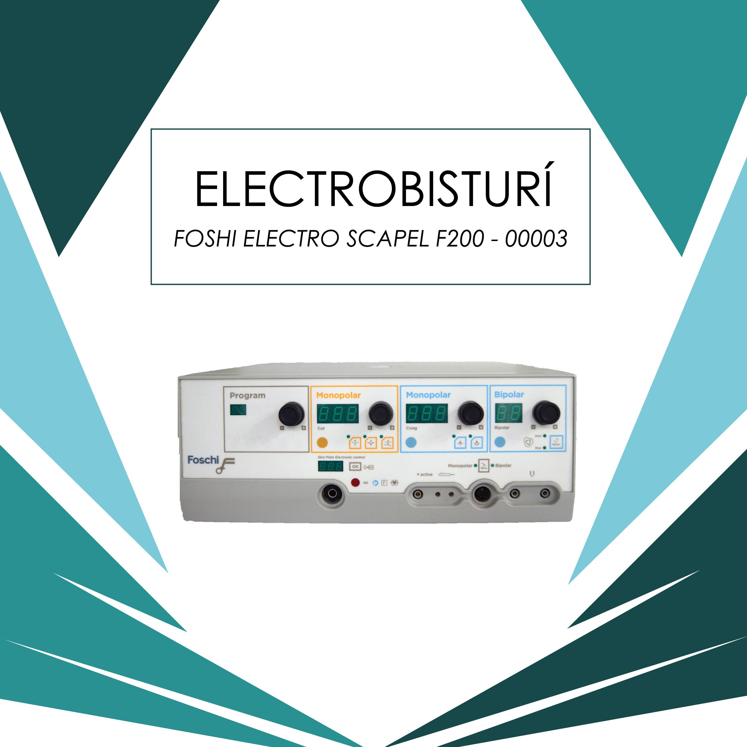 Catálogo electrobisturí